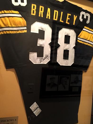 Bradley's signed jersey