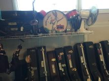 Part of guitar collection