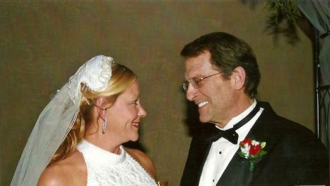 Dr. King and Donna at their wedding in 2007