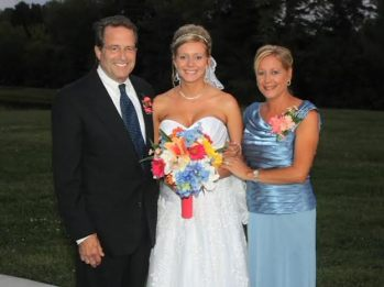 Dr. King and Donna at Meagan's wedding in 2011