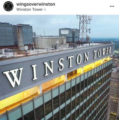 Winston's Own Batman-Wings OverWinston