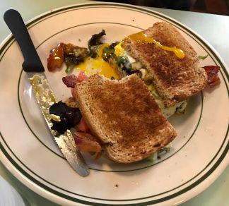 Matt's breakfast sandwich